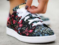 Adidas Stan Smith W Jacquard Merlot
