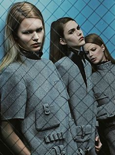Anna Ewers, Vanessa Moody & Lexi Boling for Alexander Wang Fall/Winter 2014 Advertising Campaign, ph. by Steven Klein. | @andwhatelse