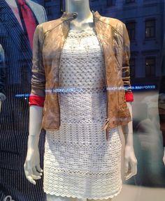 crochelinhasagulhas: Editorial de moda crochê anos 70