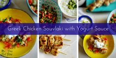 Kick your chicken up a notch with this super easy Greek Chicken Souvlaki with yummy yogurt sauce. It's approved for all cycles of the 17 Day Diet. Souvlaki Recipe, Greek Chicken Souvlaki, Yogurt Sauce, 17 Day Diet, Recipies, Ethnic Recipes, Greek Sauce, Food, Tacos