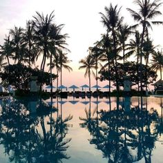 Start the day feeling inspired and catch the sunrise at Conrad Bali. Photo by aileen.peh via Instagram.