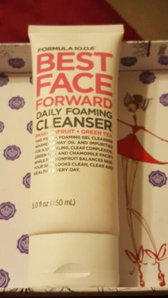 Used once Formula 10.0.6 Best Face Forward Daily Foaming Cleanser Passionfruit + Green Tea.. 5.0 fl oz.  Pending