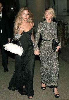 The Olsen Twins. xx Dressed to Death xx #inspiration #icon #style #fashion #StyleIcon
