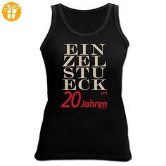 Damen Tank Top - Geschenk zum 20. Geburtstag - Einzelstück seit 20 Jahren - Girlie Shirt - Fun Shirt (*Partner-Link)