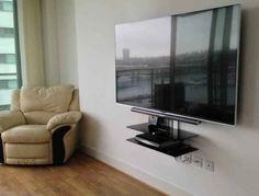 led tv wall mount ideas