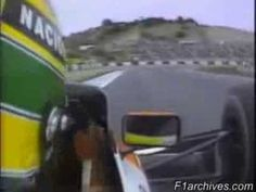 Ayrton Senna Pole Recorde Histórico Jerez 1990 F1 Formula 1