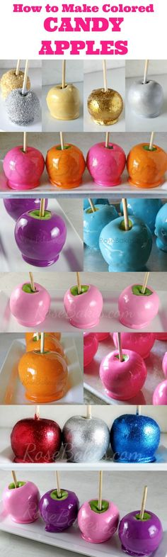 Candy Apples!!