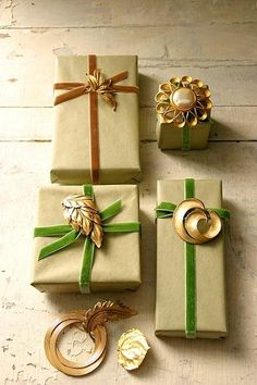Gift Wrapping Ideas |