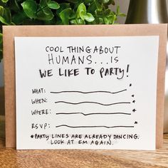 Fun new party invitations on sale in our Etsy shop! 10 for $10!