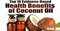 Coconut Oil is Very Healthy: Here's the Top 10 Evidence-Based Benefits