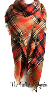 These zara inspired scarfs are the MUST HAVE for the 2015-2016 fashion season. They are EXTREMELY soft, comfortable, and versatile. (You can even use them as a throw blanket!) Plaid scarves measures: