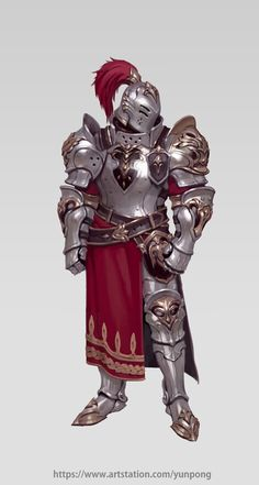 Kai Fine Art is an art website, shows painting and illustration works all over the world. Fantasy Character Design, Character Concept, Character Inspiration, Character Art, Robot Concept Art, Armor Concept, Knight Armor, Knight In Shining Armor, Fantasy Warrior