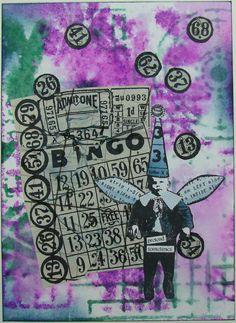 #9 Kruiswoordpuzzel / bingokaart o.i.d.