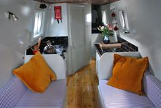 Image result for narrowboats interiors