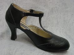 "1920's 1930's Downton Abbey Gatsby flapper style Mary Jane shoe from eBay store ""Old Mill Mercantile"" - $50"