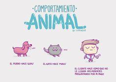 Comportamiento animal.