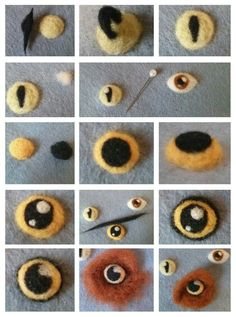 Pin by Felt Frolic Art on Felt tutorials | Pinterest | Felting, Tutorials and Eyes