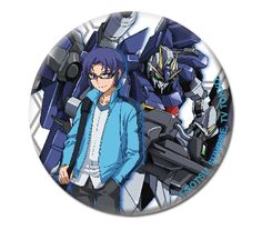 Gundam Build Fighters Try 1.25'' Button - Yuuma & Lightning @Archonia_US