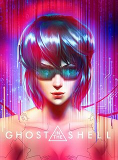 Motoko Kusanagi - Ghost in the Shell Cyberpunk Character, Cyberpunk Art, Fiction Movies, Science Fiction, Art History Major, Motoko Kusanagi, Sci Fi Characters, Ghost In The Shell, Shadowrun