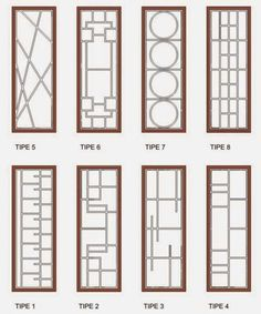 Newest Minimalist Window Trellis Costs December 2018 – Value Deposits 2020 Window Grill Design Modern, Grill Door Design, Door Gate Design, Modern House Design, Wooden Window Design, Minimalist Window, Porte Design, Window Bars, Steel Doors