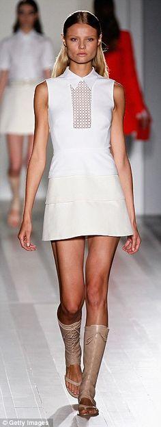 Victoria Beckham new collection N Y Fashion Week
