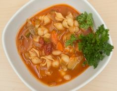 #MeatlessMonday - Farmers Market Minestrone: Sign up for weekly recipes: https://secure.humanesociety.org/site/SPageServer?pagename=meatlessmondaysignup