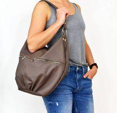 LEATHER bag, Spring sale -30%,  Leather Hobo bag, hobo bags, hobo bag,  Women leather hobo, leather hobo bags, Everyday Leather Bag by BarbaraLeatherDesign on Etsy