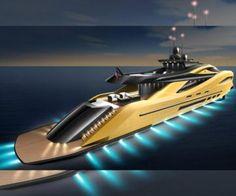 Settantanove Concept, un exclusivo megayate. #yate #yacht #yates #lujo #luxury #megayate