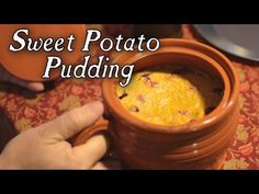 Sweet Potato Pudding - from Amelia Simmons 1796 collection - YouTube