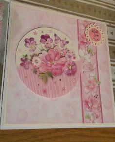 Hunkydory flutterby nan birthday card