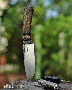 """ถูกใจ 195 คน, ความคิดเห็น 7 รายการ - bannok knives (@bannok_knives) บน Instagram: """"#bannok_knives #handforged #O1steel #knifesmith #bladesmith #madeinthailand"""""""