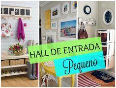 Ideias para decorar um hall de entrada pequeno
