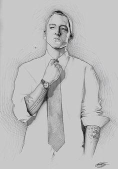Eminem Sketch