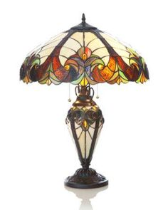 Halston Double Lit Table Lamp