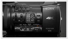 XAVC Recording Format at 4K 50p/60p, 4:2:2 10-bit at 500/600Mbps, HD at up to 223Mbps