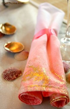 Gold Foil, The Right Way to Gold Leaf Fabric