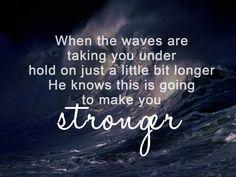 Stronger- Mandisa.
