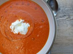 fresh tomato soup re
