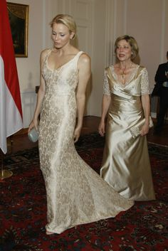 White and Gold Wedding. Gold Bridesmaid Dress. Soft and Romantic. Princess Charlene