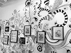 zentangle wall - Google Search