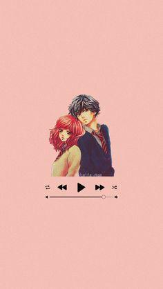 Kou Mabuchi and Futaba Yoshioka Wallpaper Ao Haru Ride Anime Otaku Background Futaba Yoshioka, Music Wallpaper, Anime Music, Otaku, Wallpapers, Stickers, Movie Posters, Art, Icons