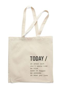 A Way with Verbs Tote, @ModCloth