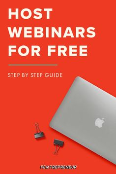 How to create a webinar for free? When we first started hosting webinars, we figured out how to use all free tools, and we've never looked back. We want you to be able to do the same thing, so we wrote an EPIC post of exactly what do to. Read it now and Business Marketing, Internet Marketing, Business Tips, Online Marketing, Online Business, Social Media Marketing, Digital Marketing, Marketing Strategies, Etsy Business