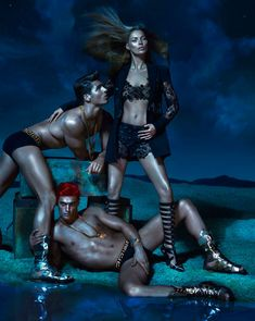 Versace Spring/Summer 2013 Campaign