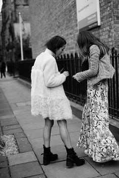 On the Street…Coats & Legs, Milan & London #fashion #streetstyle #sartorialist