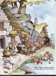 Asterix and Obelix as kids