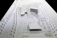 Image 2 of 37 from gallery of Sejong Art Center Winning Proposal / DMP Partners. Courtesy of DMP Partners Grand Stairway, Centre, Parametric Design, Urban Landscape, Landscape Design, Editorial Design, Three Dimensional, Proposal, Art Gallery