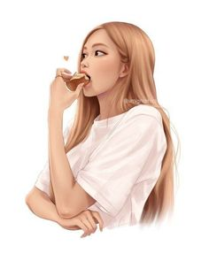 Moda Kpop, Dibujos Tumblr A Color, Black Pink Kpop, Blackpink Photos, Kim Jisoo, Blackpink Fashion, Digital Art Girl, Anime Art Girl, Girl Cartoon