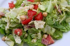 An old favorite from Seattle's Cucina! Cucina!.  Leave out the chicken for a delicious side salad.