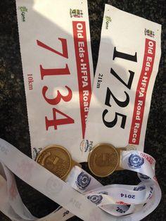 Old Eds half marathon & 10km race.